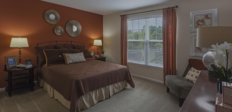 Walnut Crossing Apartments Bedroom